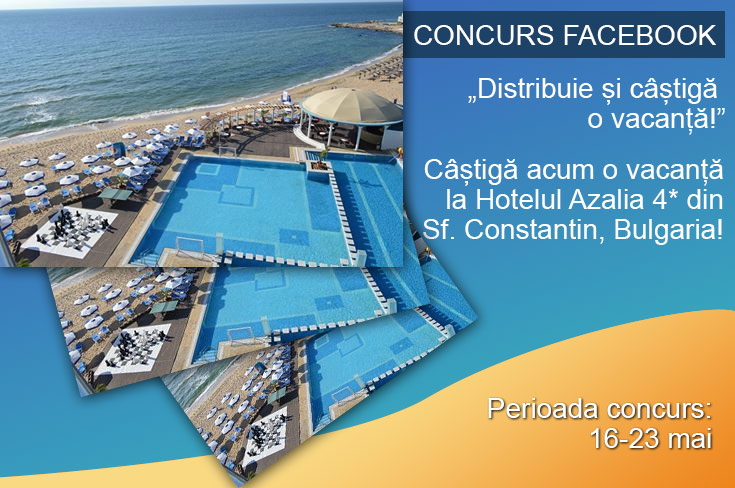 Concurs Facebook agentie de turism